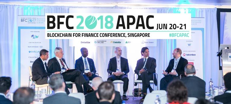 BFC 2018 APAC Blockchain for Finance Conference