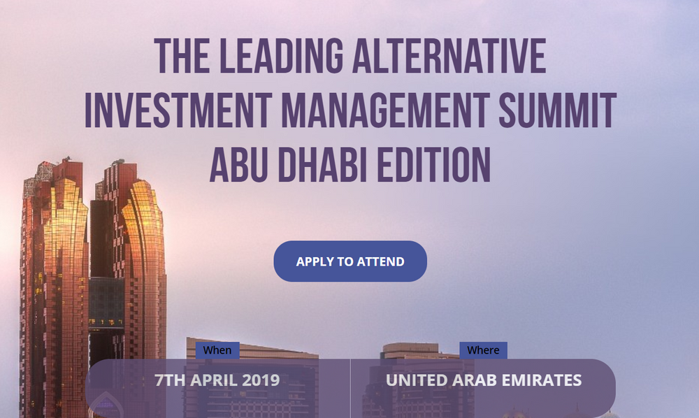AIM Summit: The Leading Alternative Investment Management Summit