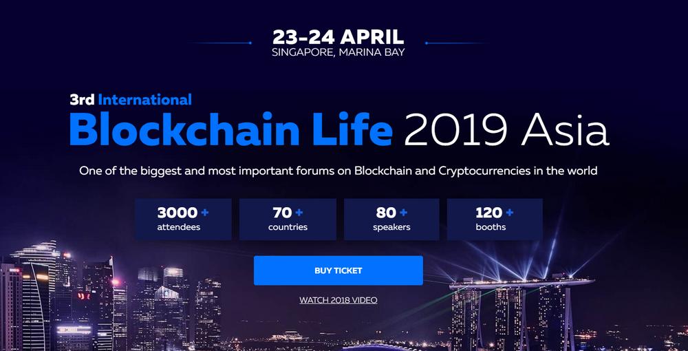 Blockchain Life 2019 Asia