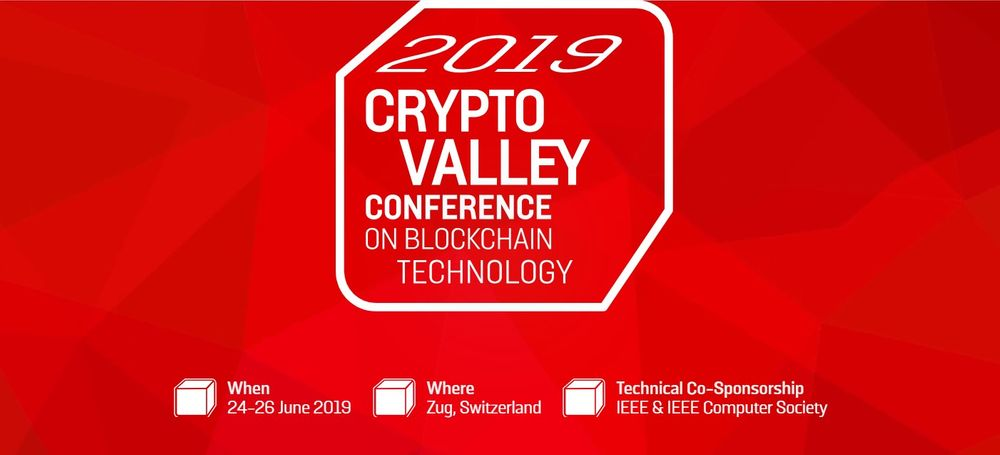 2019 Crypto Valley Blockchain Conference
