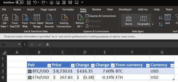 btc markets excel)