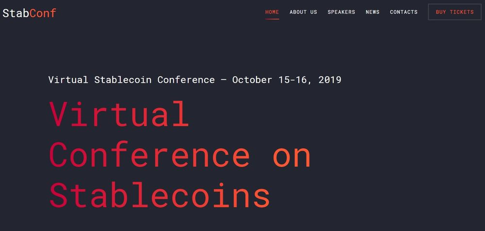 StabConf - Virtual Stablecoin Conference