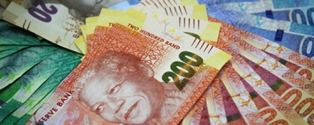 South African Rand Spikes