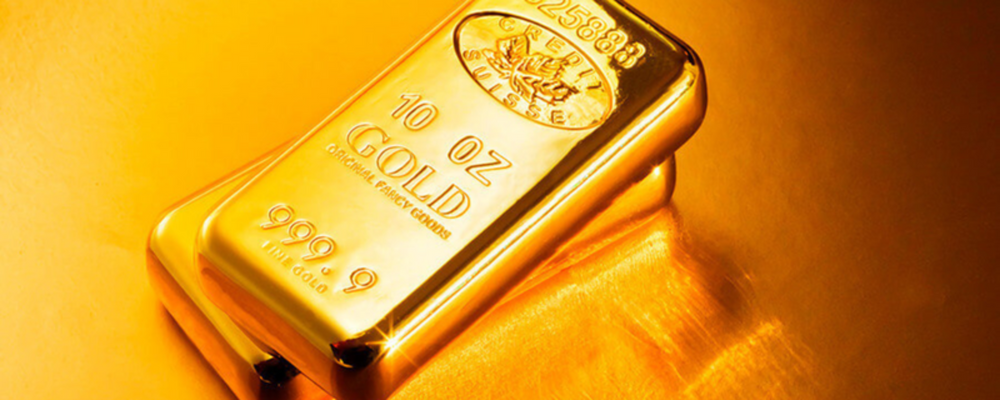 Gold Price Edges Lower Below $1,310
