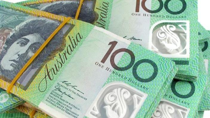 Australian dollar rises sharply to 0.7105