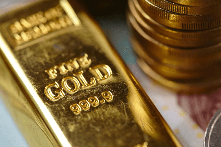 Gold price slips below $1325 amid Fed rate cut speculations