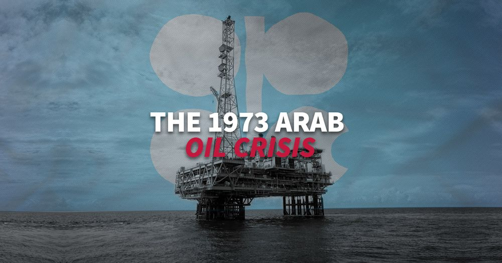 The first oil embargo that shook the world