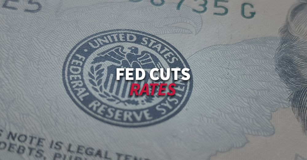 """Fed cuts rates as """"mid-cycle-adjustment"""" to global """"uncertainties"""""""