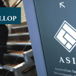 Why did ASIC cancel Gallop's AFS license?
