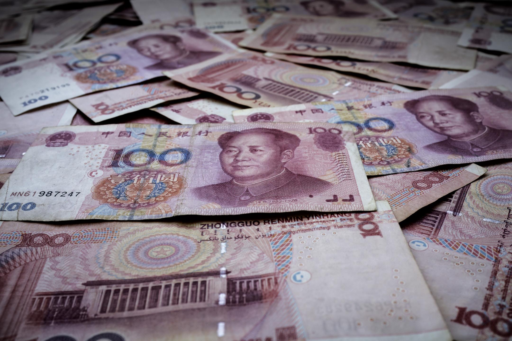 Overnight offshore Yuan HIBOR breaks YTD levels