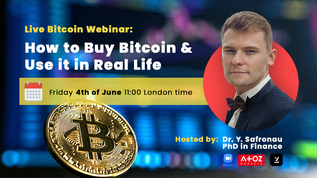 Webinar: How to Buy Bitcoin and Use it in Real Life